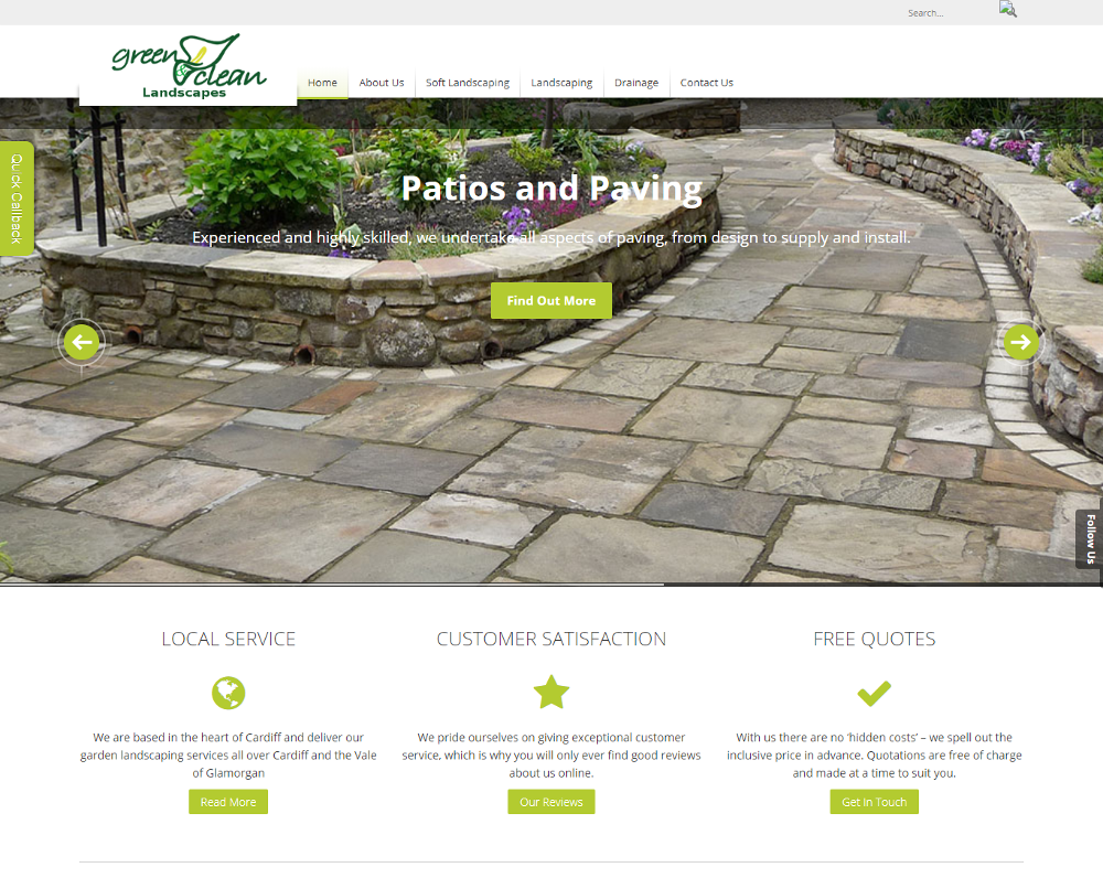 greenandcleanlandscapes co uk