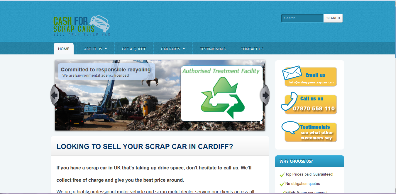 We Buy Your Scrap Cars